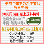 3000円以上送料無料8000円以上手数料無料